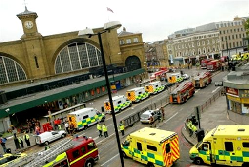 king's cross ambulances