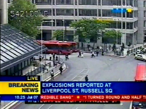 explosions reported at russell square